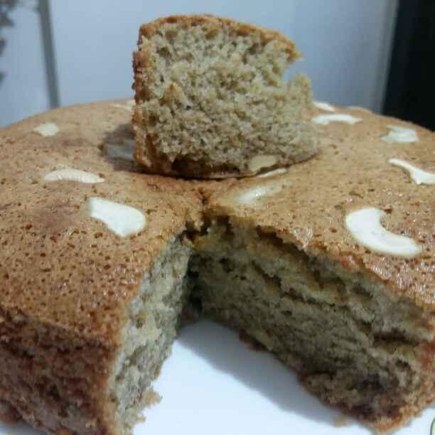 How to make Banana wheat flour cake