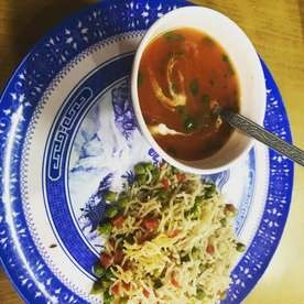 Photo of Vegetable Rice with Tomato Soup by Misha Jain at BetterButter
