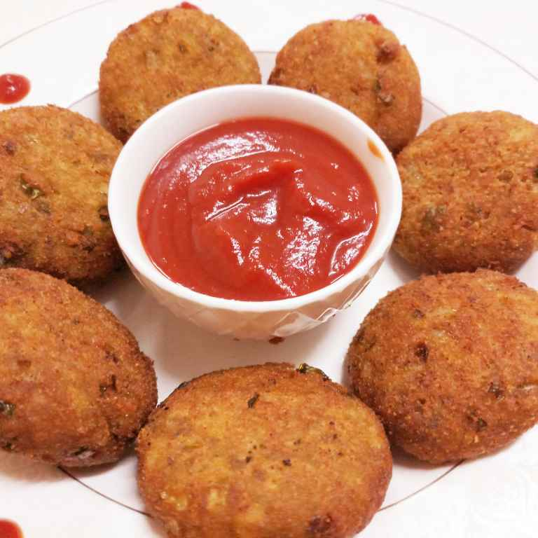 Photo of Leftover Bhakhri Cutlets by Mital Viramgama at BetterButter