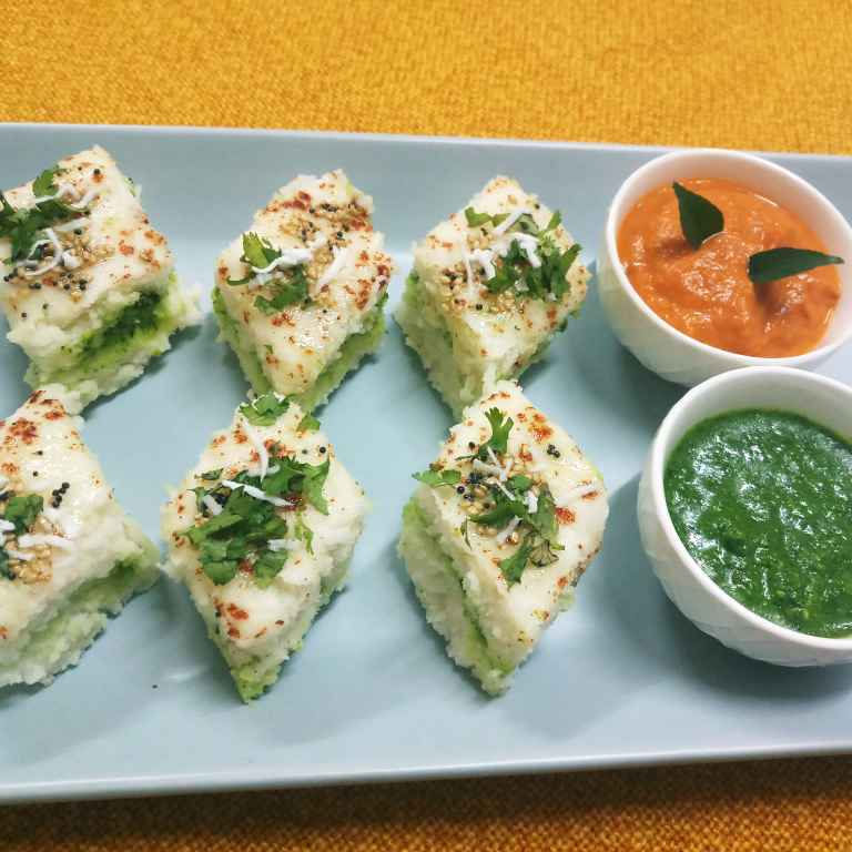 Photo of Sandwich Dhokla by Mital Viramgama at BetterButter