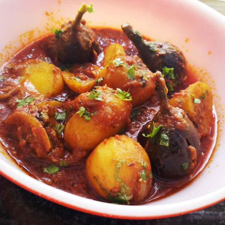 Photo of Stuffed Brinjal Aloo by Mital Viramgama at BetterButter