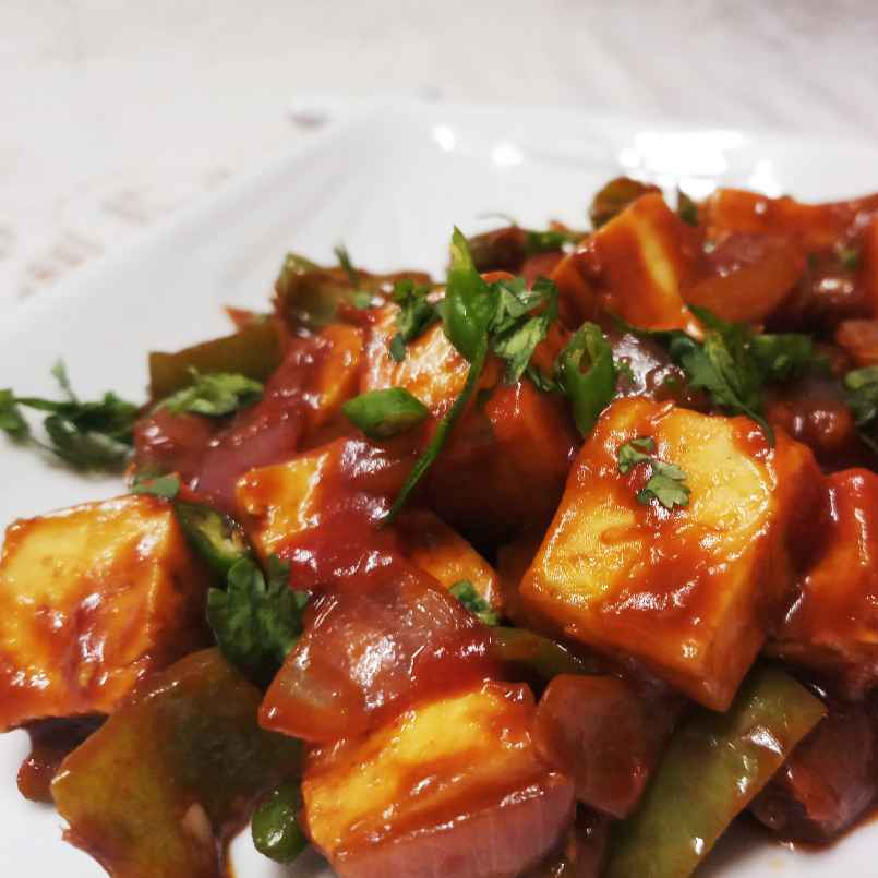 Photo of Paneer Chilli by Mital Viramgama at BetterButter