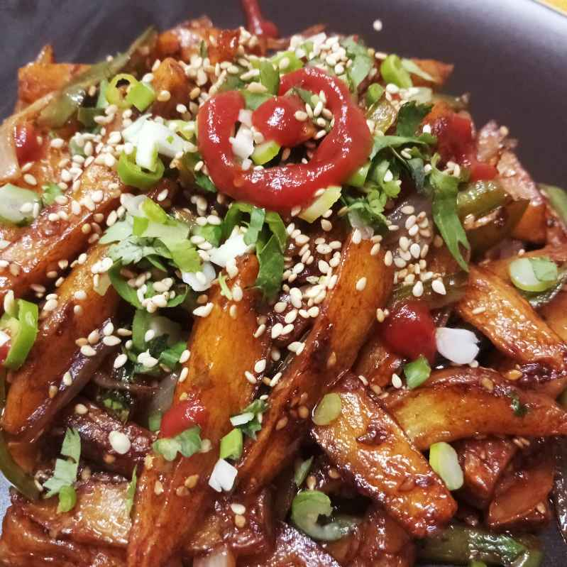 Photo of Honey Chilli Potato by Mital Viramgama at BetterButter