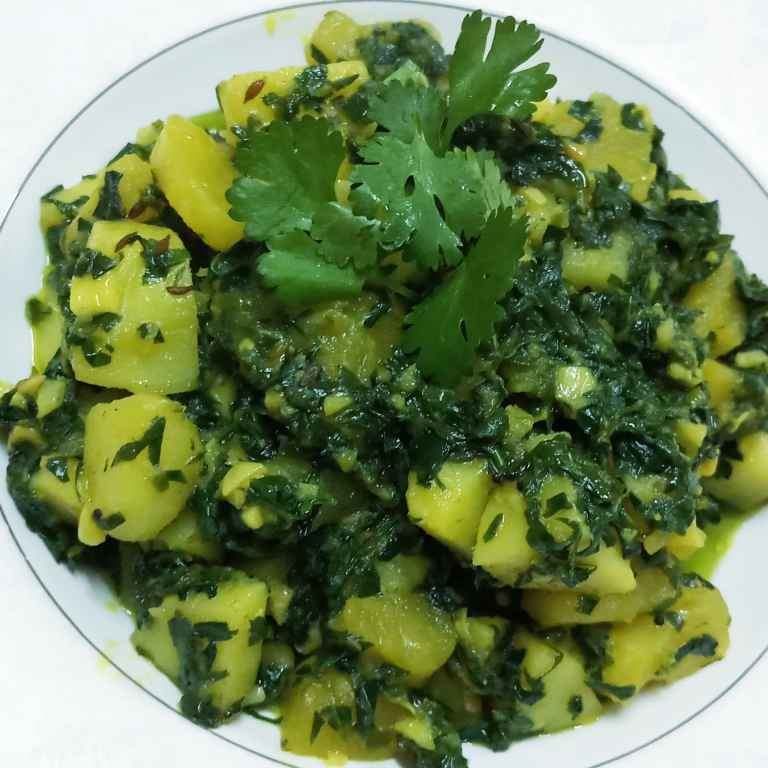 Photo of Aloo Methi by Mital Viramgama at BetterButter