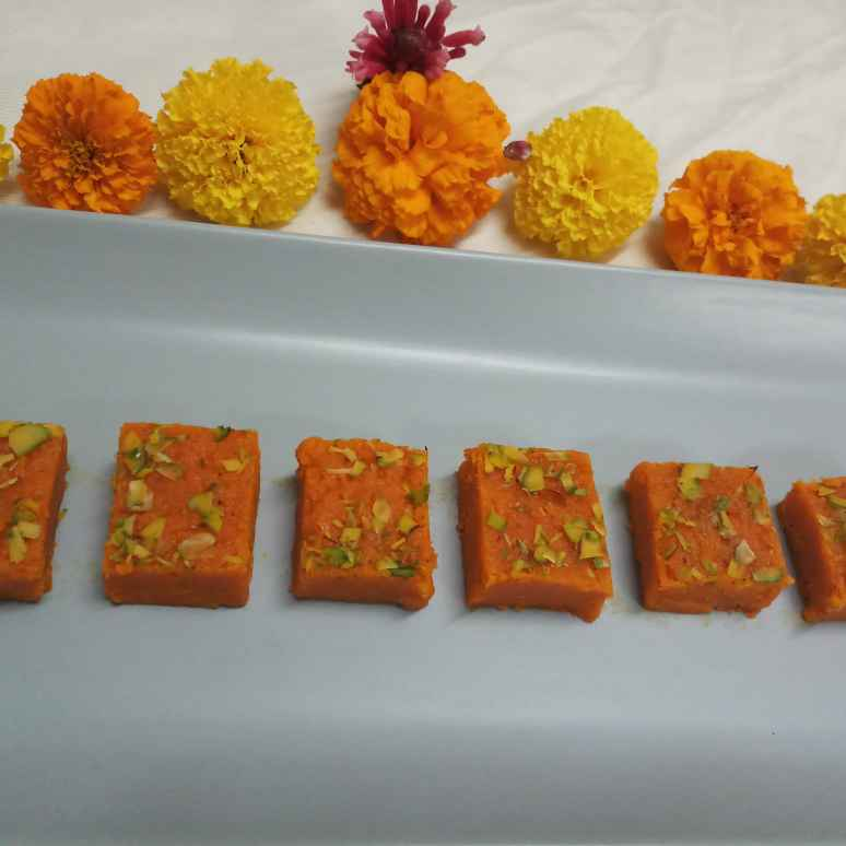 Photo of Carrot Barfi by Mital Viramgama at BetterButter