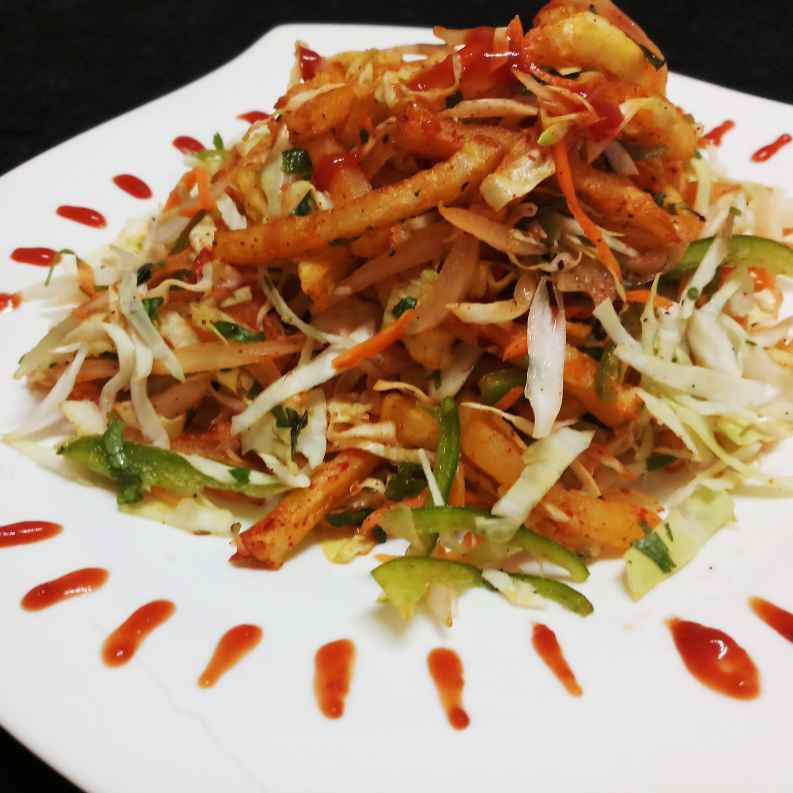 Photo of Salad French Fries by Mital Viramgama at BetterButter
