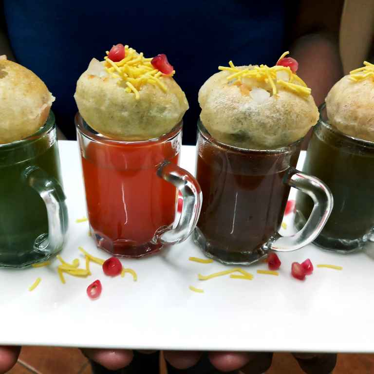 Photo of Four Flavours Pani Puri by Mital Viramgama at BetterButter