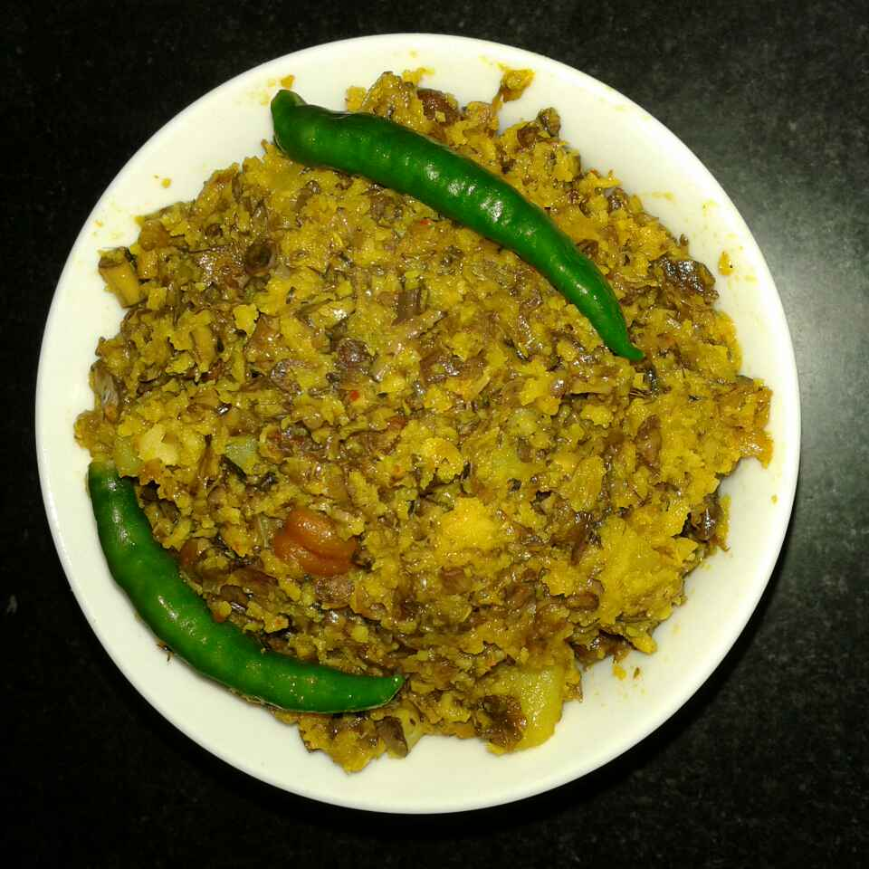 How to make Mochar Ghonto (Banana Blossom Curry)