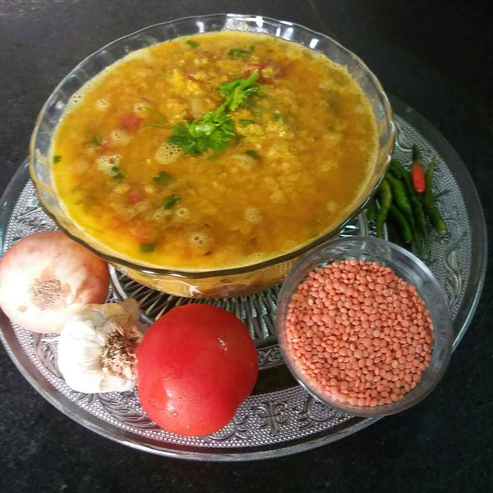 Photo of Musur Dal chochchori by Mitali Das at BetterButter