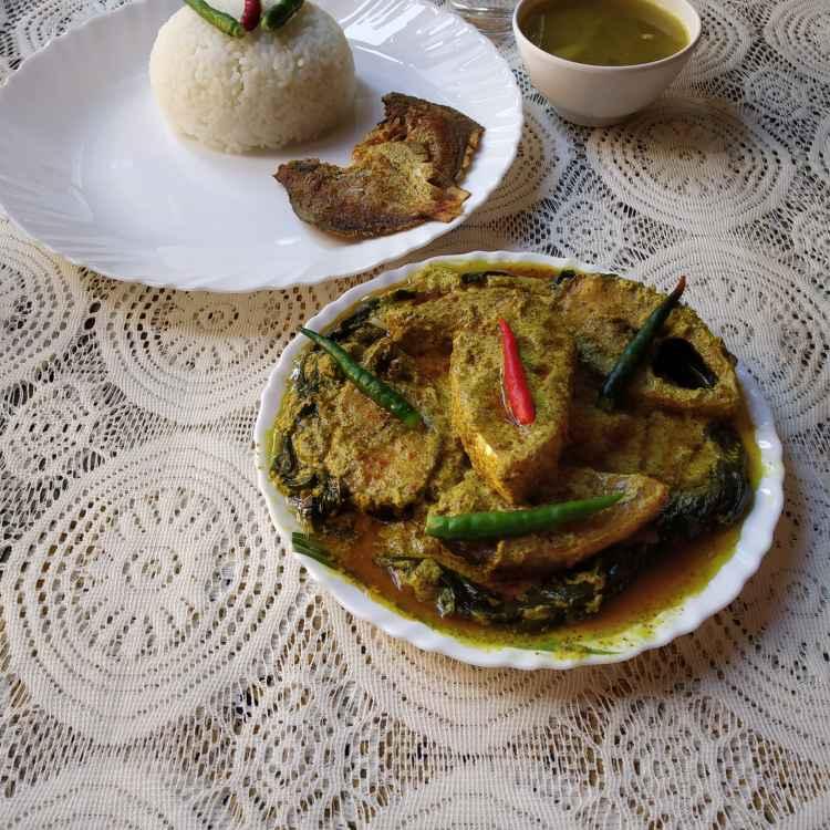 Photo of Kochupatay Bhapa Ilish by Mithai Choudhury Roy at BetterButter