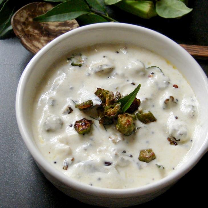 How to make Vendaikkai Pachadi Recipe