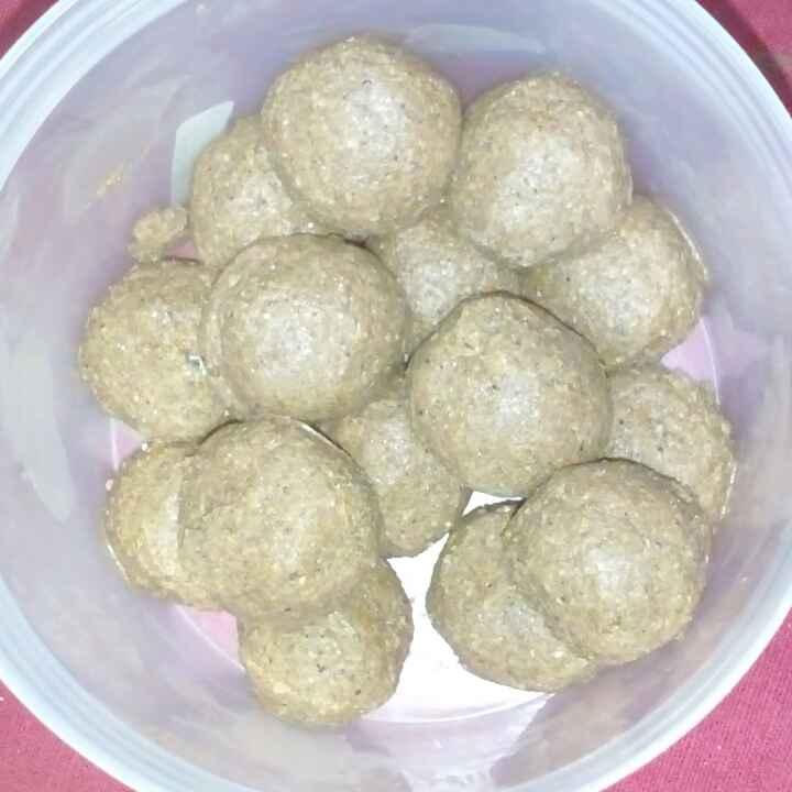 How to make Sesame balls