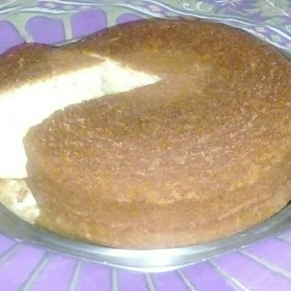 How to make Sponge cake in cooker