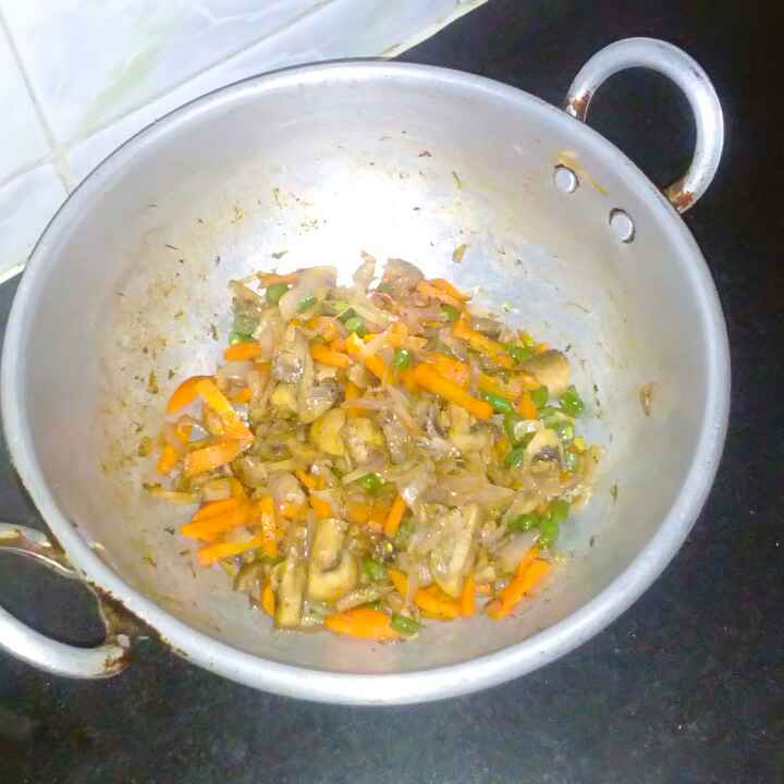 Photo of Mushroom veg pepper curry by mithra g at BetterButter