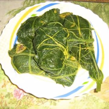 Photo of Lau Patay Ilish Bhapa or Steamed Hilsha Wrapped in Gourd Leaves by Mitoshi Saha at BetterButter