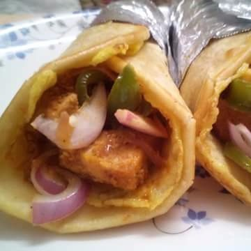 How to make Kolkata style Egg Chicken Roll