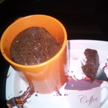 How to make Chocolate cake in a cup