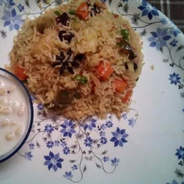 Photo of Veg Pulao by Mitoshi Saha at BetterButter