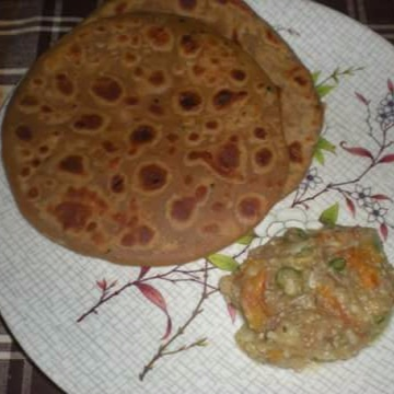 Photo of Sattu ka Paratha and Chokha by Mitoshi Saha at BetterButter