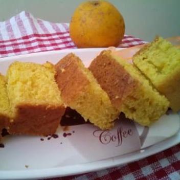 Photo of Eggless Orange Cake by Mitoshi Saha at BetterButter