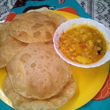 How to make Hinger kochuri or hing ki kachori