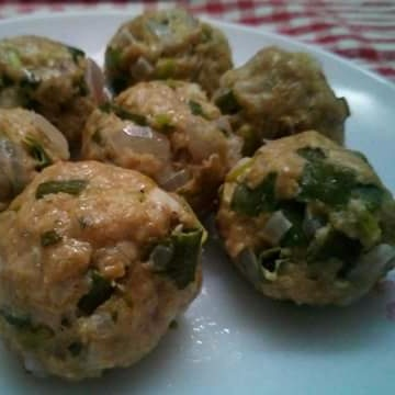 Photo of Zero Oil Steamed Chicken Balls by Mitoshi Saha at BetterButter