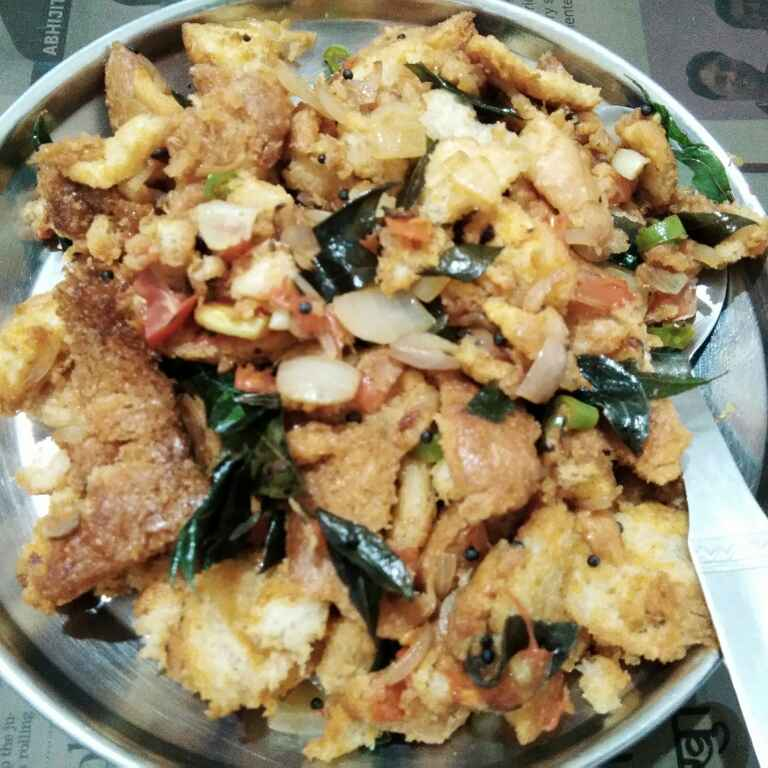 Photo of Bread upma by Mitoshi Saha at BetterButter