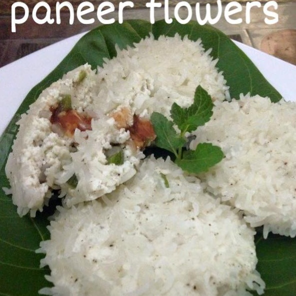 Photo of Steamed Paneer Flower by Mona Bassi at BetterButter
