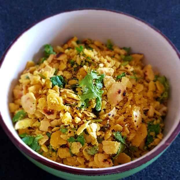 How to make Besan ki roti ka bharta