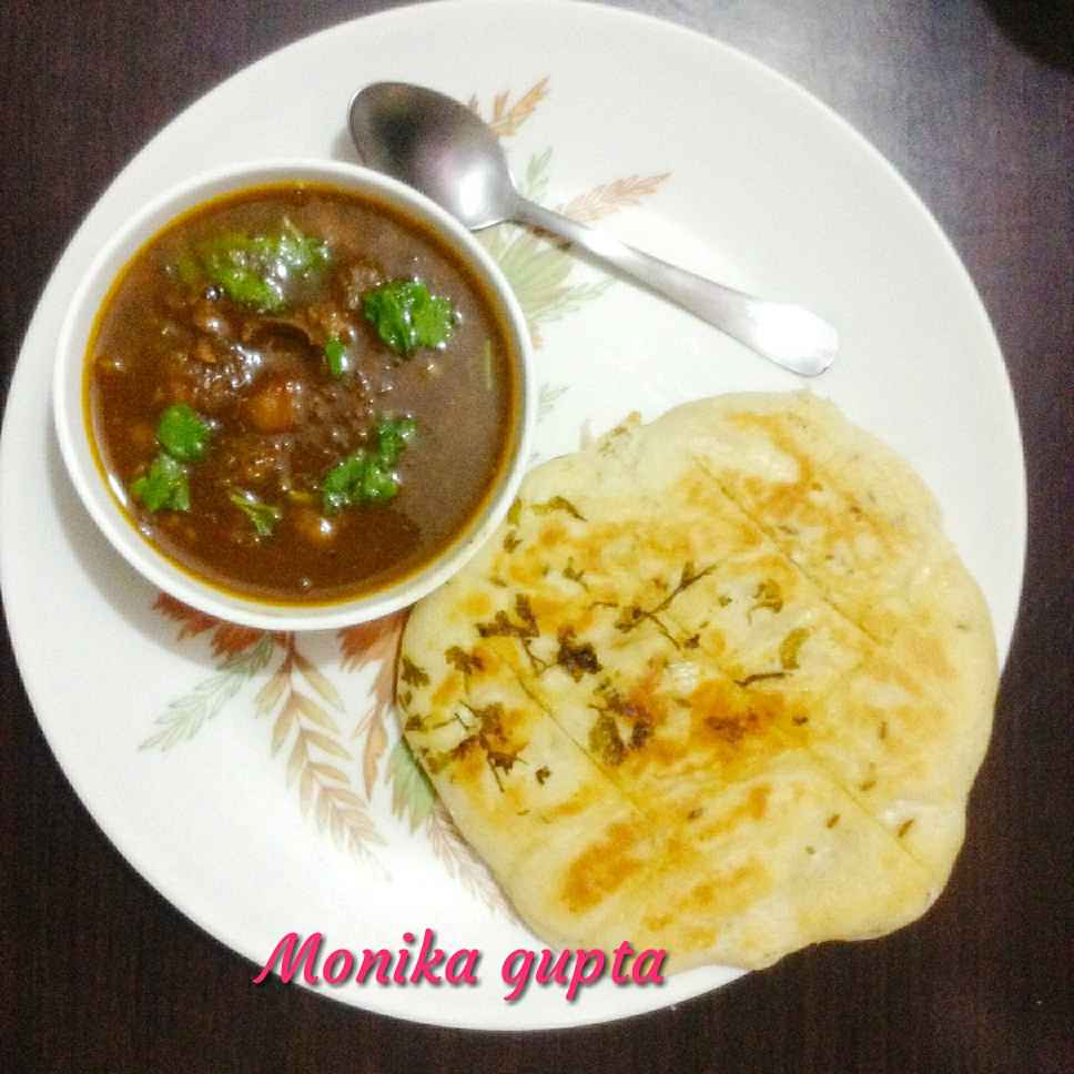How to make Chhola kulcha