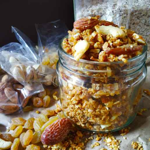 Photo of Dry fruit mixture by Monika Rastogi at BetterButter