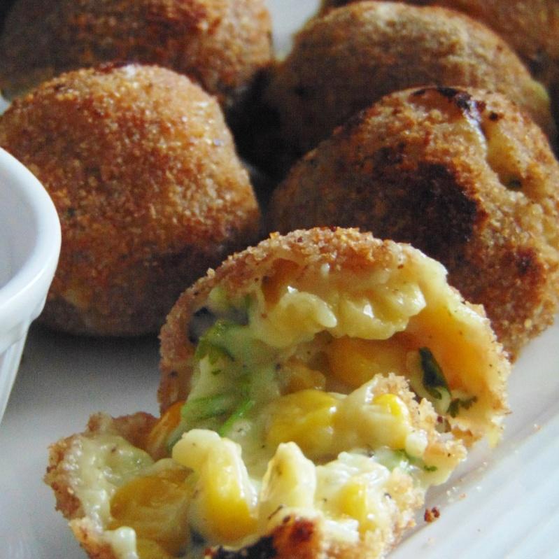 How to make Cheese corn balls