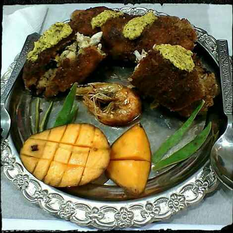 Photo of MANGO PRAWN STUFFED CHICKEN CUTLET by Moumita Ghosh at BetterButter