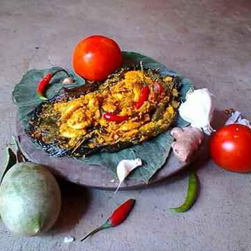 Photo of KUMRO PATAY CHINGRI PATURI by Moumita Ghosh at BetterButter
