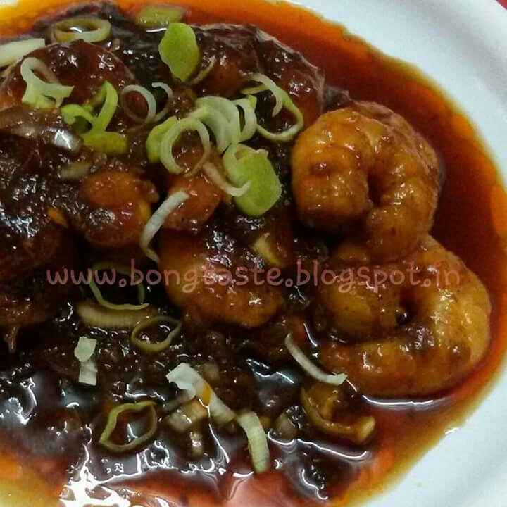 How to make Saucy Prawns