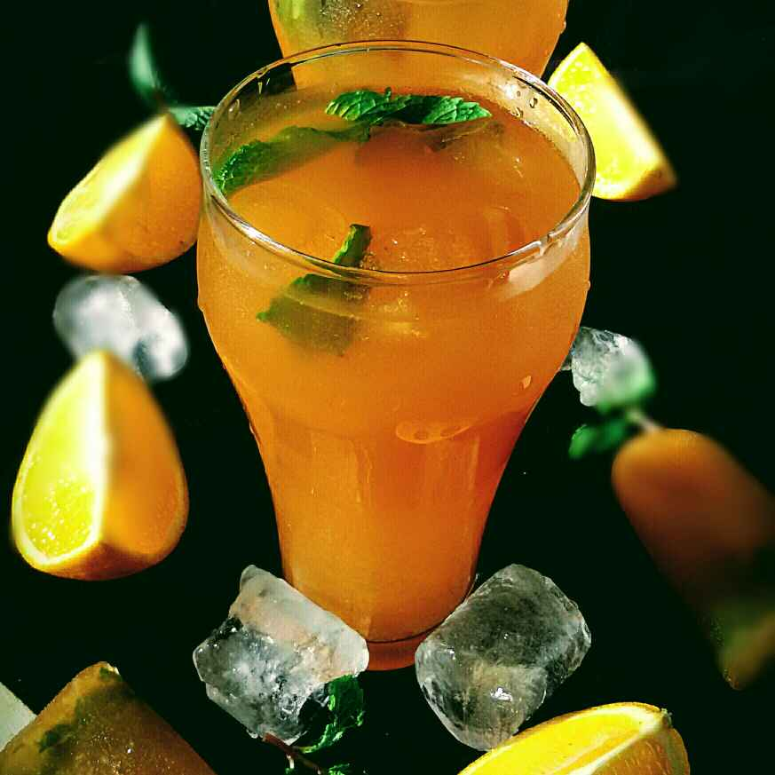 How to make Orange Iced Tea