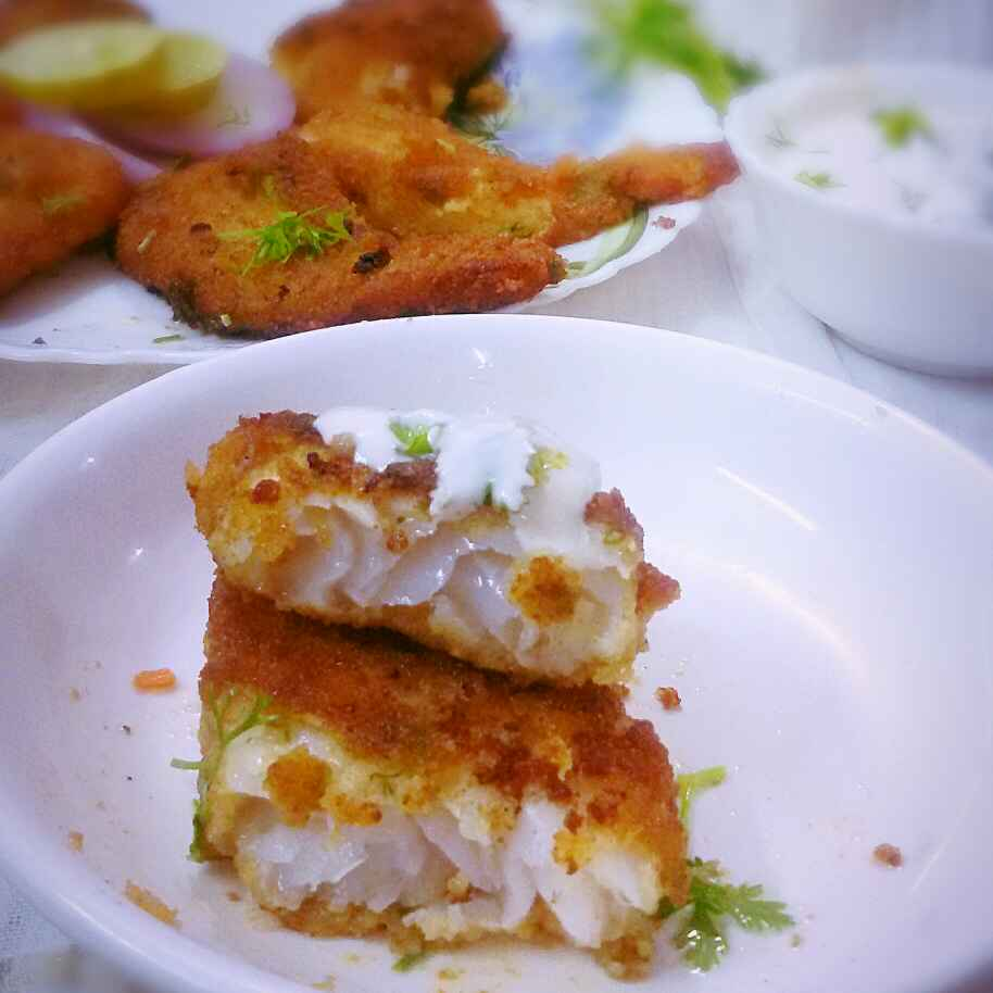 How to make Breaded  Mustard Fish Fillets