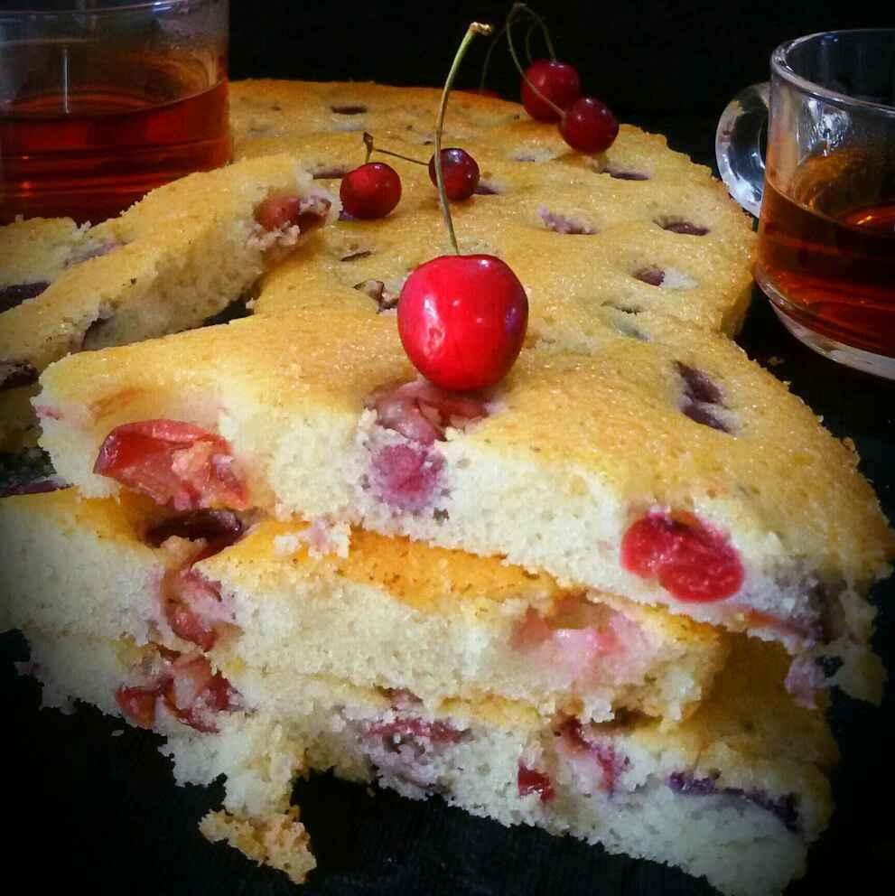 How to make Fresh Cherry Cake