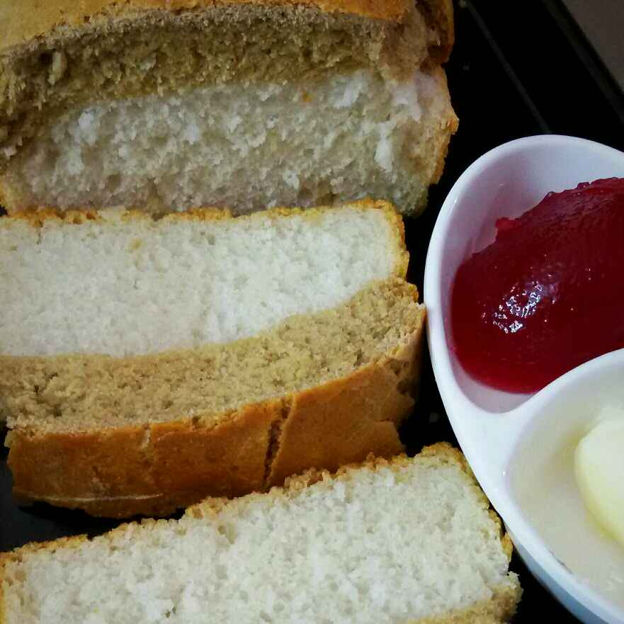 How to make Bread butter and Jam(Twin In One Bread Loaf )