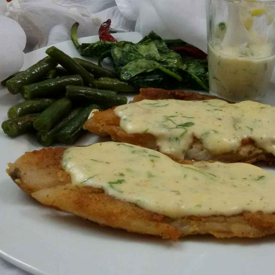 How to make Fish in Cheese Sauce