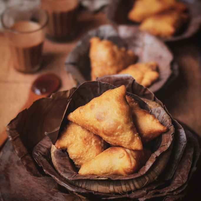 How to make Mutton Keema Samosa