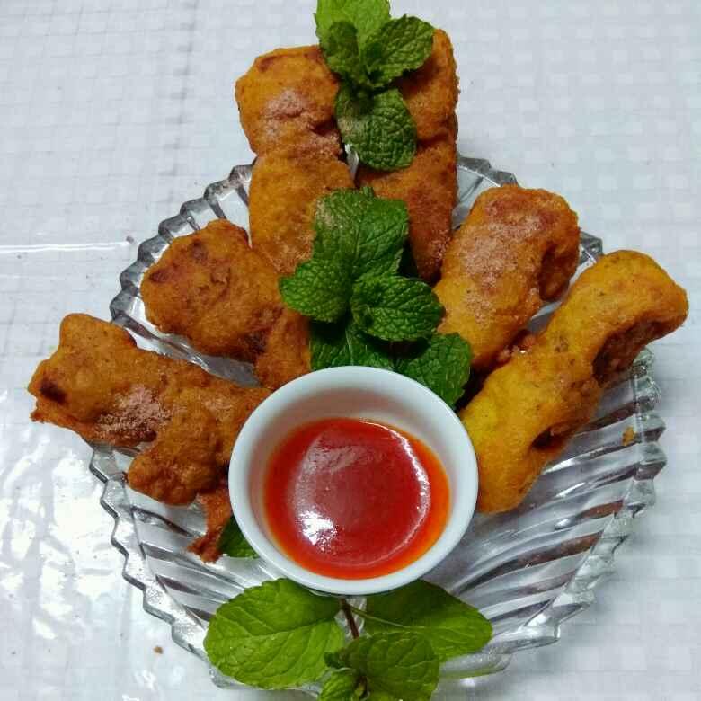 Photo of Stuffed Cottage Cheese Fritters by Moumita Nandi at BetterButter
