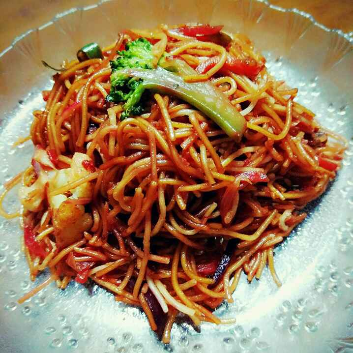 How to make Veg Chowmein in Indian style