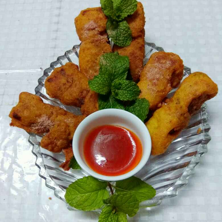 How to make Stuffed Cottage Cheese Fritters