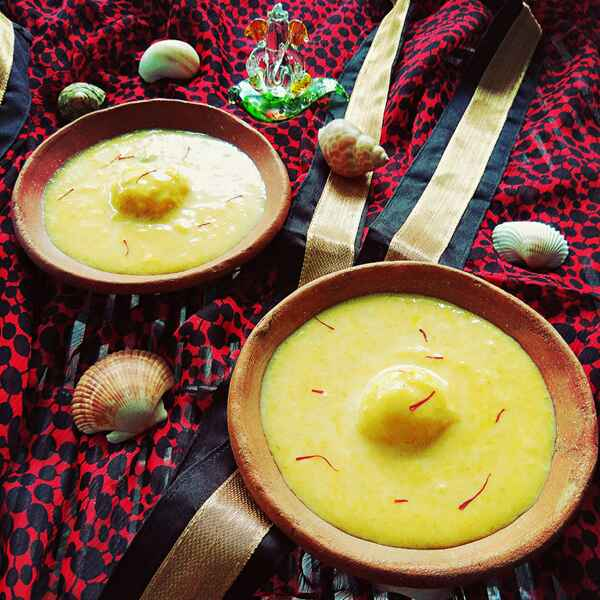 Photo of Mango Rasmalai by Moumita Nandi at BetterButter