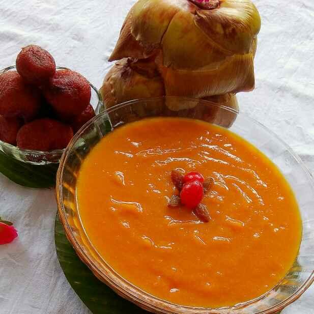 Photo of Palm Fruit Pudding by Moumita Nandi at BetterButter