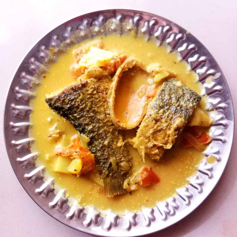 Photo of Spicy fish curry with dry mango by Moumita Nandi at BetterButter