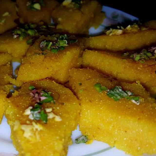 How to make sujir barfi