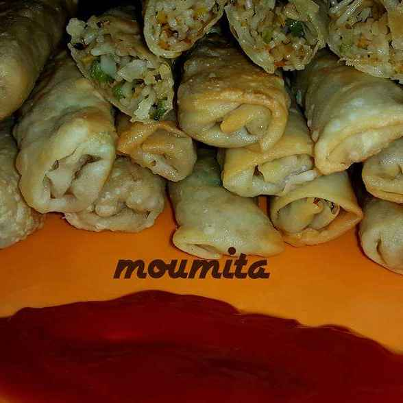 Photo of chowmin spring roll by Moumita Saha at BetterButter