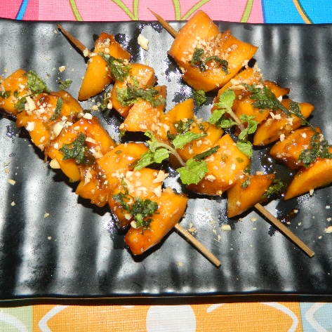 Photo of Spicy Mango Satay by Mousumi Bhattacharya at BetterButter